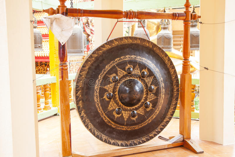 Thaise gong stock afbeeldingen