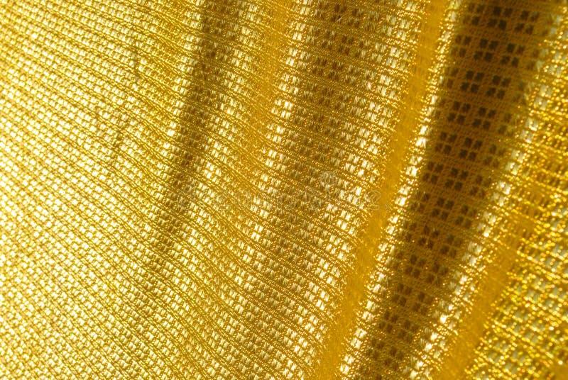 Thaise gouden zijde royalty-vrije stock afbeeldingen