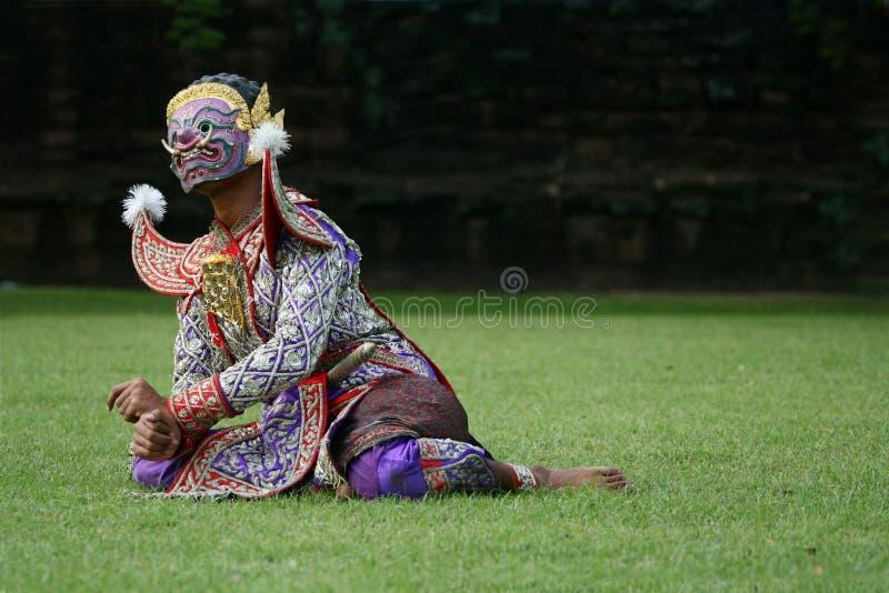 Thaise Khon stock afbeelding