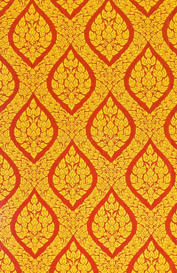Thaise kunst van de muur royalty-vrije stock afbeelding
