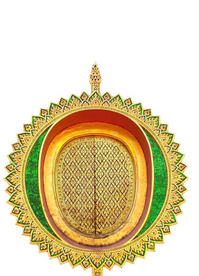 Thaise kunstmuur royalty-vrije stock afbeeldingen