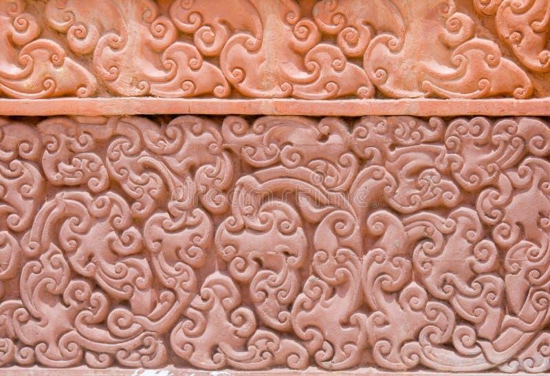 Thaise lijnachtergrond royalty-vrije stock afbeelding