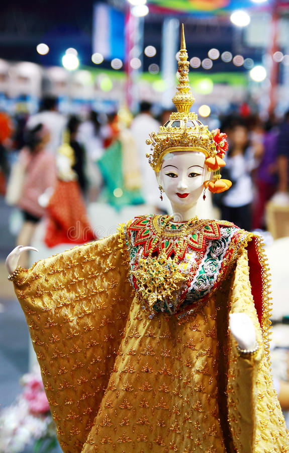 Thaise marionet stock foto