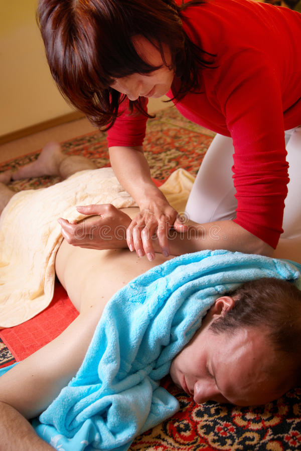 Thaise massage stock fotografie