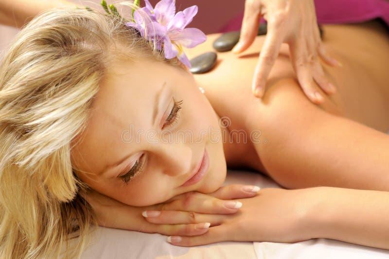 Thaise Massage stock afbeeldingen