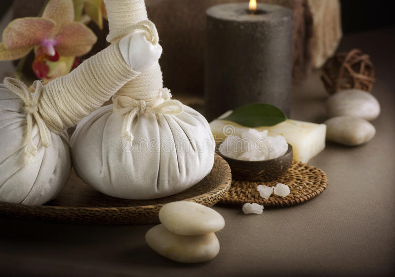 Thaise Massage stock foto's