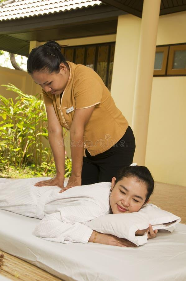 Thaise massage 3 van het Kuuroord royalty-vrije stock foto
