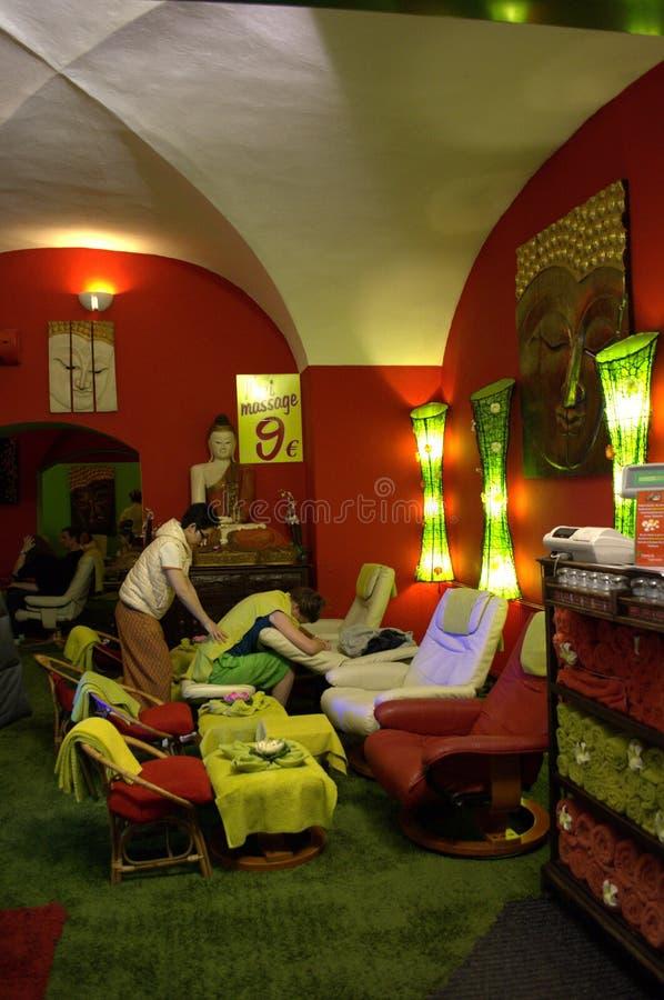 Thaise massageplaats royalty-vrije stock foto's