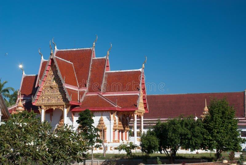 Thaise noordoostelijke tempel 1 stock foto's