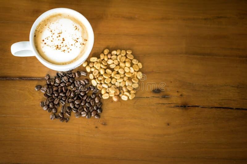 Thaise Organische de koffiearabica van de olifants shit koffie royalty-vrije stock afbeelding