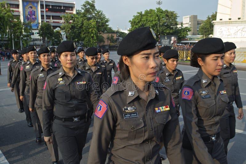 Thaise politieke crisis stock fotografie