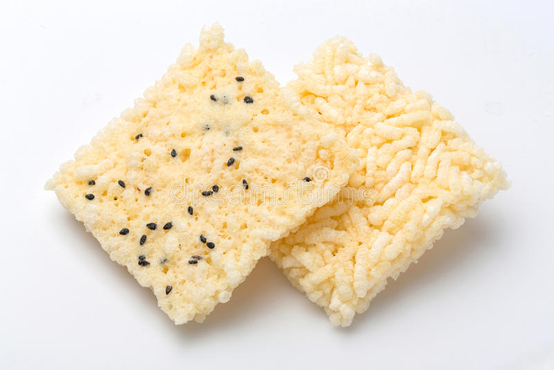 Thaise rijstcracker stock foto's