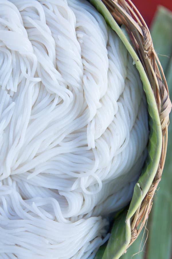 Thaise rijstnoedel royalty-vrije stock afbeelding
