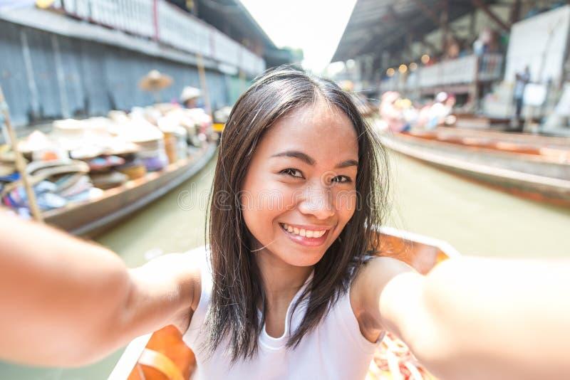 Thaise selfie stock foto's