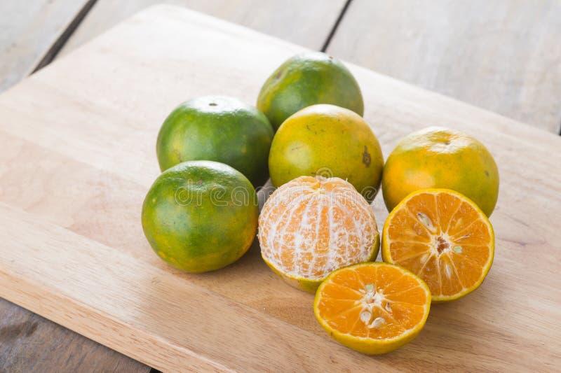 Thaise sinaasappel royalty-vrije stock foto's