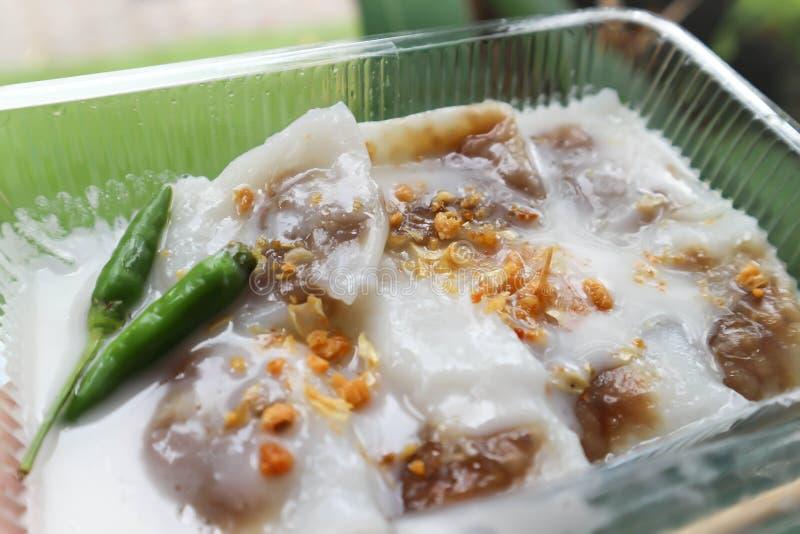 Thaise snack, bladdeeg royalty-vrije stock fotografie