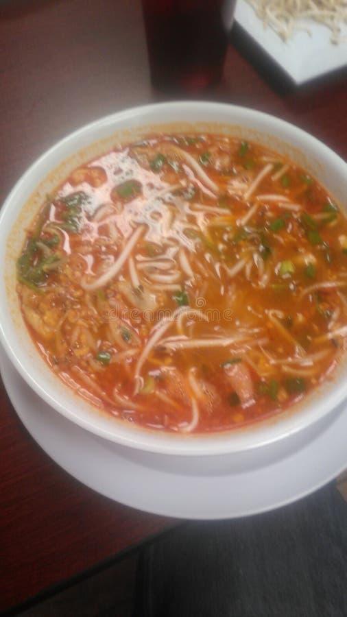 Thaise soep in Texas royalty-vrije stock foto
