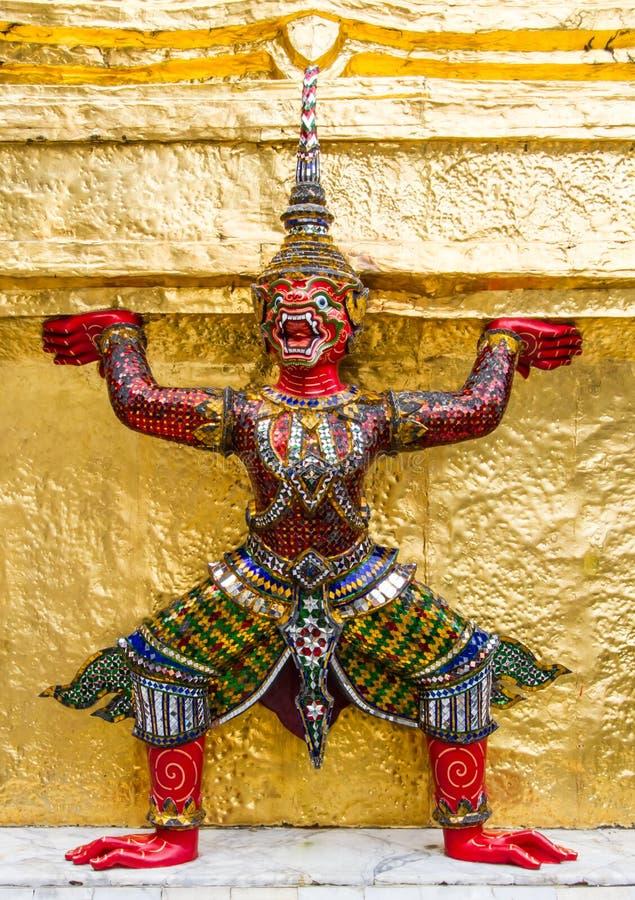 Thaise stijlreuzen royalty-vrije stock afbeelding