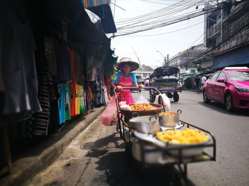 Thaise straatfotografie stock foto's