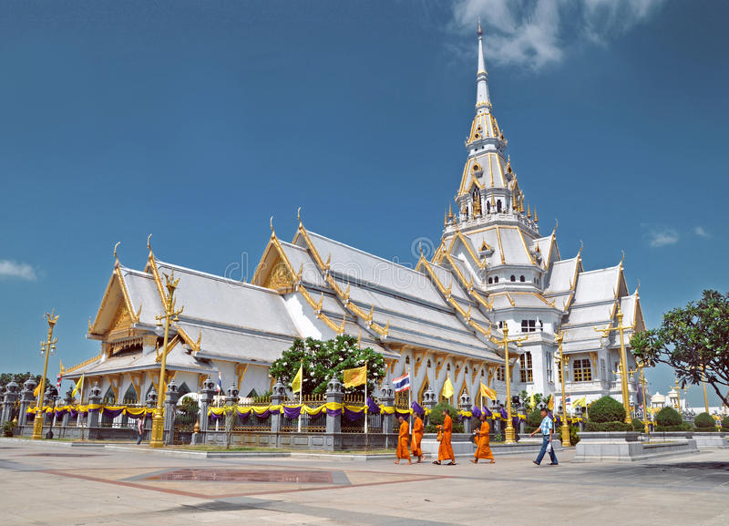 Thaise Tempel royalty-vrije stock afbeeldingen