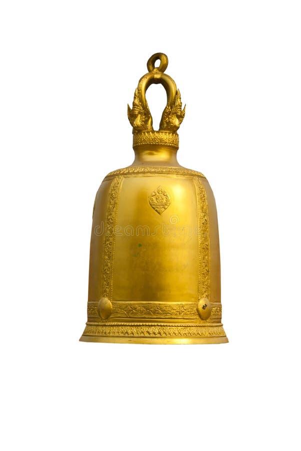 Thaise tempelklokken stock afbeelding