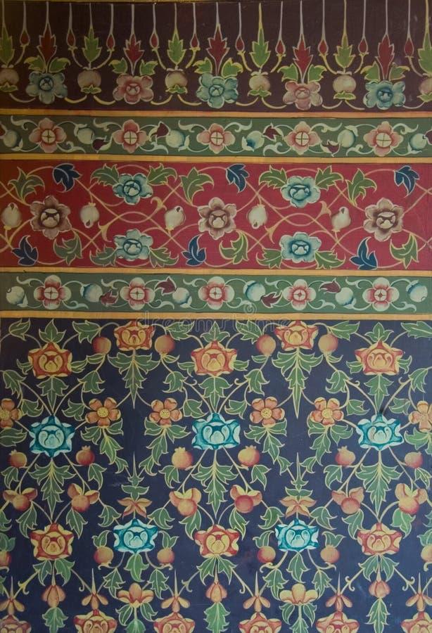 Thaise textuur 2 royalty-vrije stock afbeelding