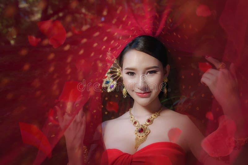 Thaise Traditionele Kleding stock fotografie
