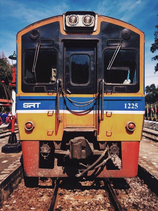Thaise trein royalty-vrije stock fotografie