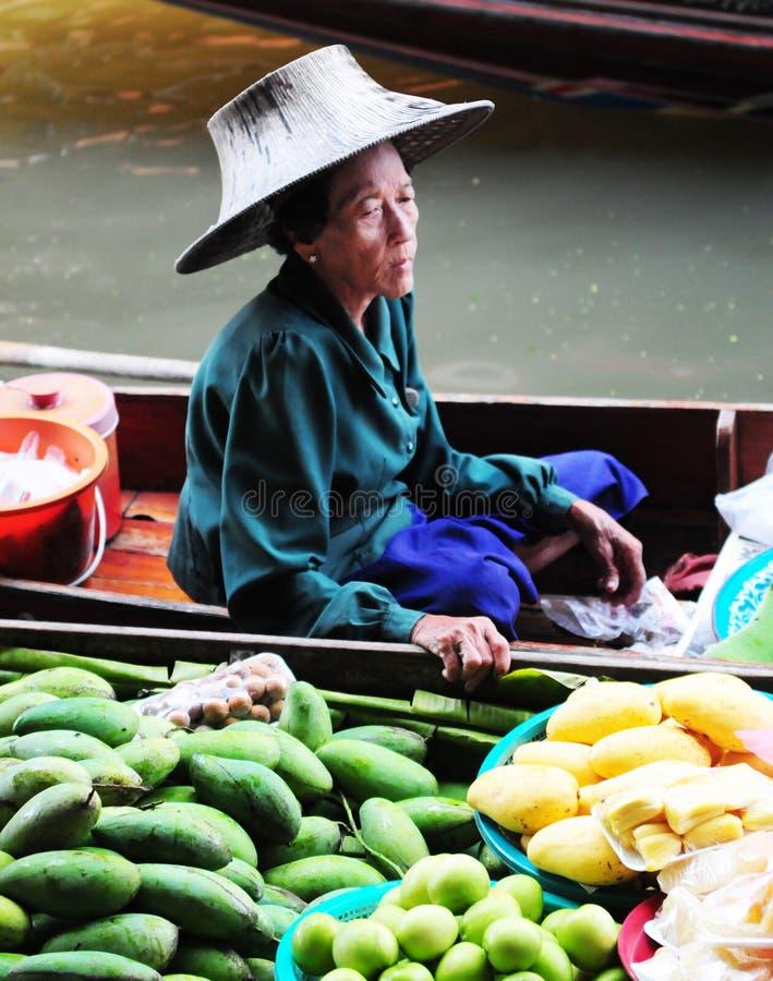 Thaise vrouw royalty-vrije stock foto