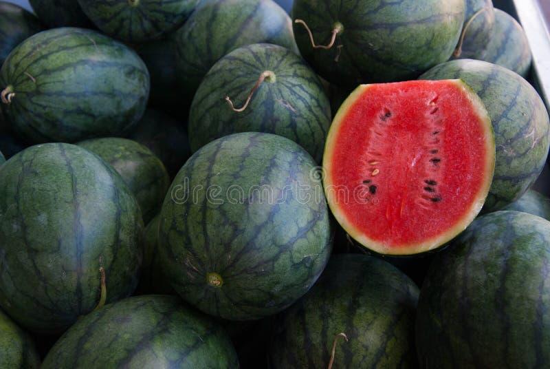 Thaise watermeloen stock fotografie