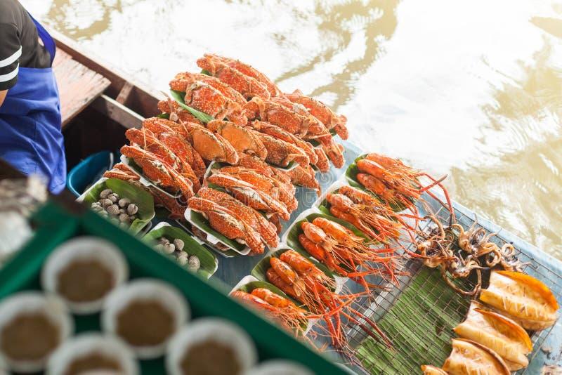 Thaise Zeekreeft stock afbeelding