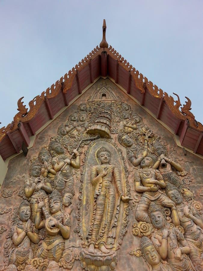 thaitemple fotografie stock