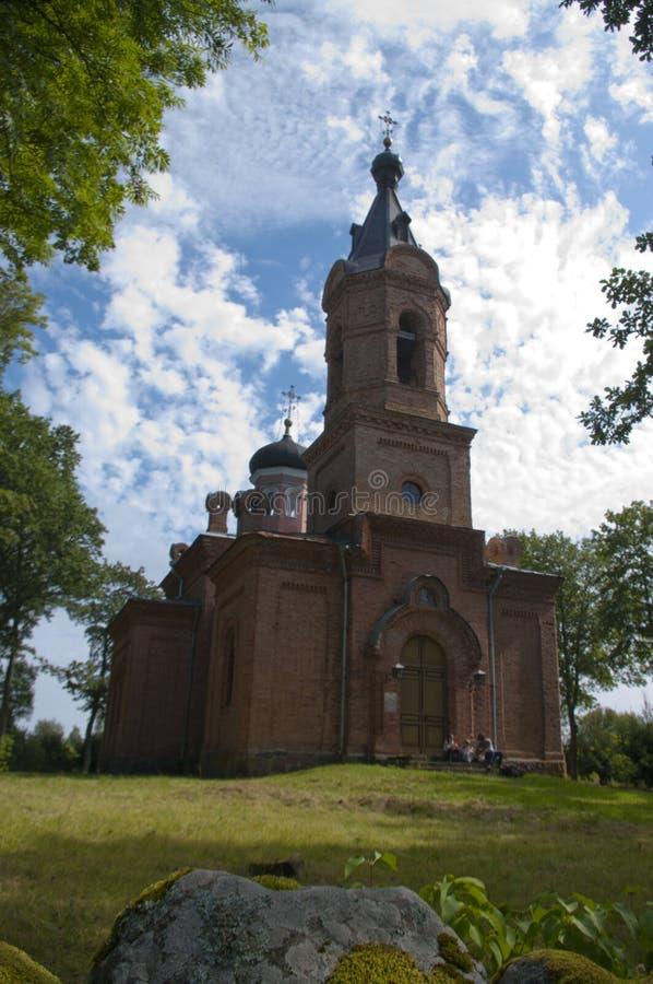 Thakuranna, Iglesia de la Asunción, Estonia imágenes de archivo libres de regalías