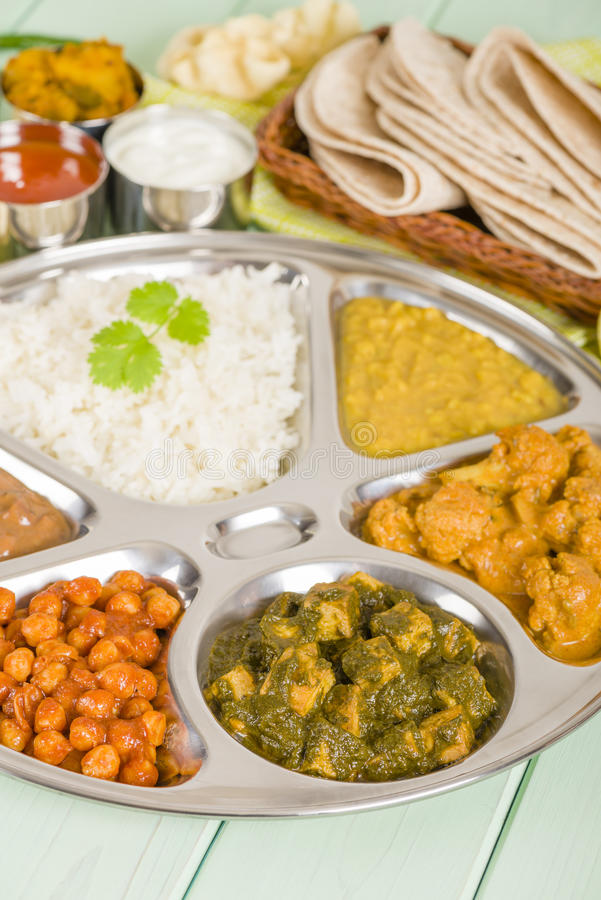 Download Thali stock photo. Image of cuisine, food, nepalese, lentils - 35251850