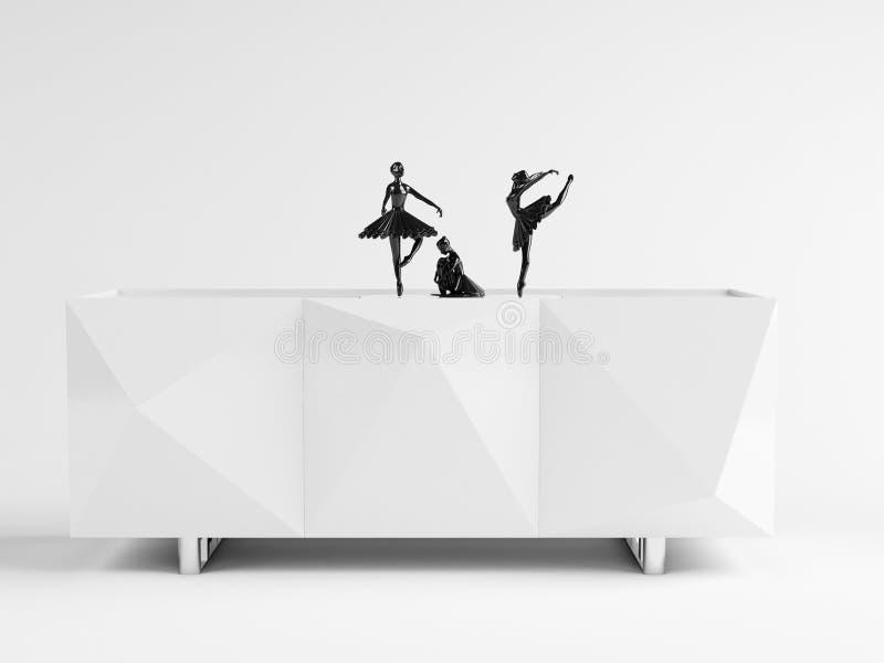 "THALIA †""Kabinet 02 vector illustratie"