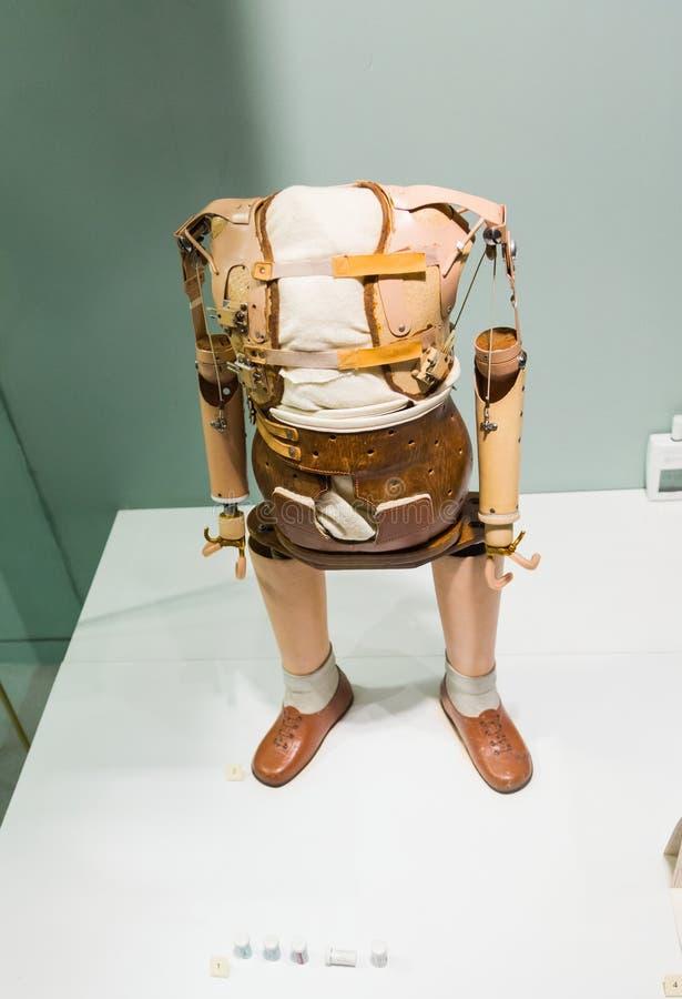 Thalidomide prosthetics royalty free stock image
