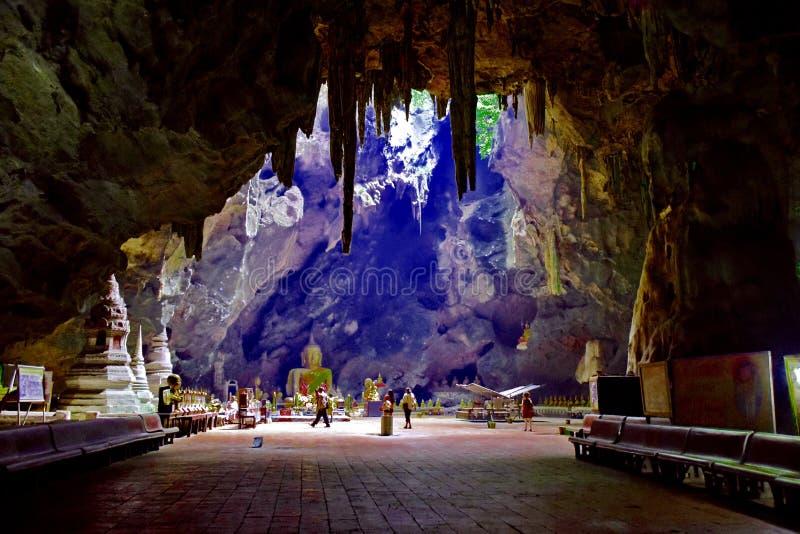 Tham Khao Luang Cavein Phetchaburi Thailand royalty-vrije stock foto's
