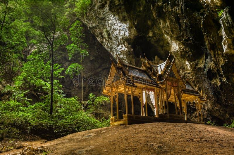 Tham Phraya Nakhon, Khao Sam Roi Yot National Pa stock foto