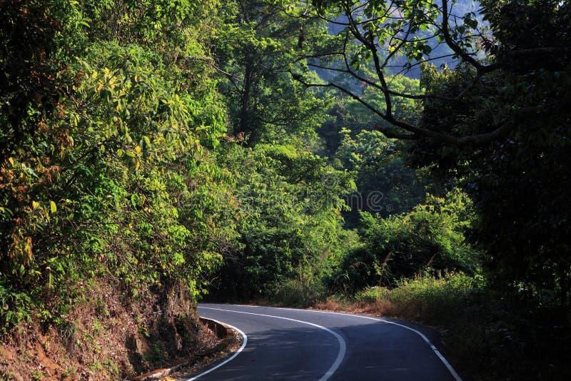 Thamarassery Churam-Wayanad immagine stock