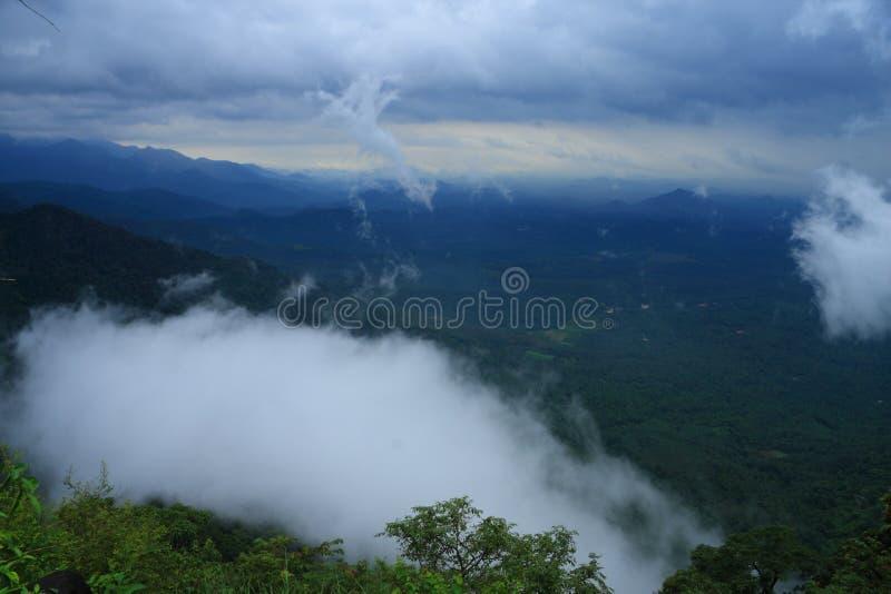 Thamarassery Churam-Wayanad fotografia de stock