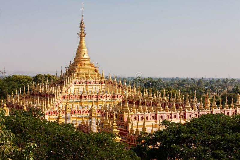 Thambuddhei Paya - buddhistischer Tempel lizenzfreies stockfoto