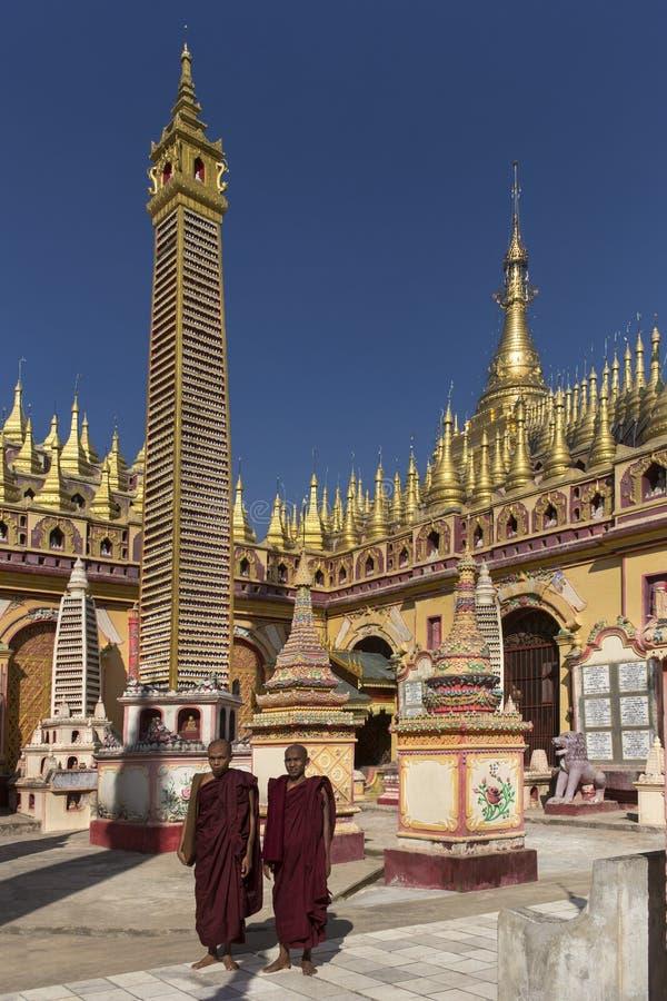 Thambuddhei Paya - Monywa - Myanmar stockfoto