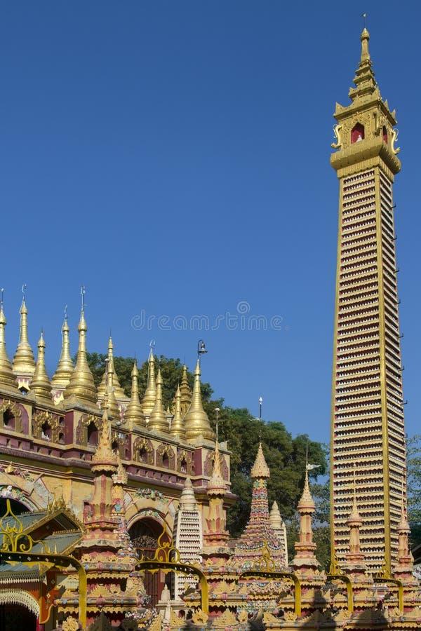 Thambuddhei Paya - Monywa - Myanmar lizenzfreies stockbild