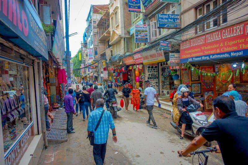 Kathmandu Nepal Capital People Daily Life Editorial Stock Photo