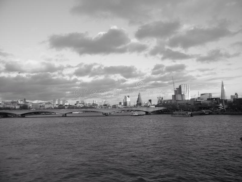 thames photographie stock