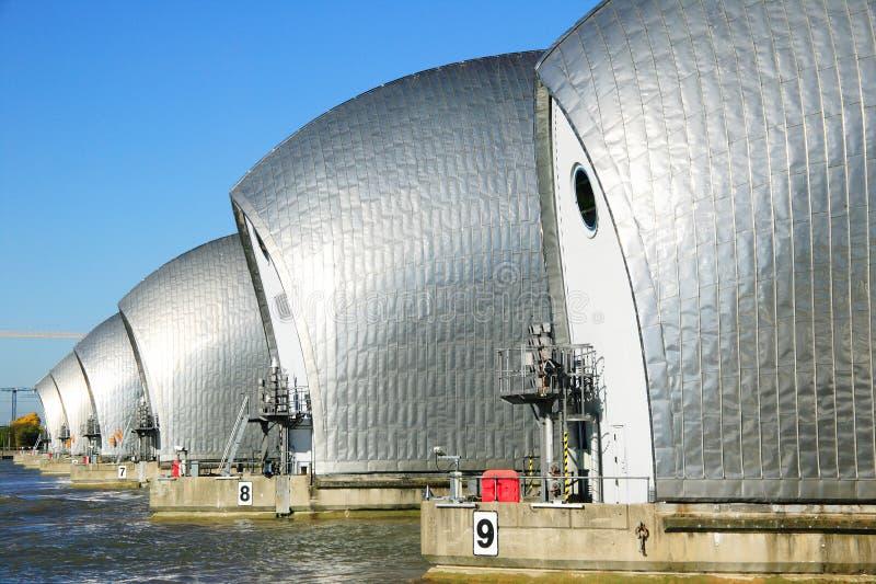 Thames bariera, obrazy royalty free