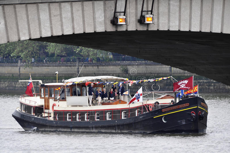 The Thames Diamond Jubilee Pageant Editorial Photo