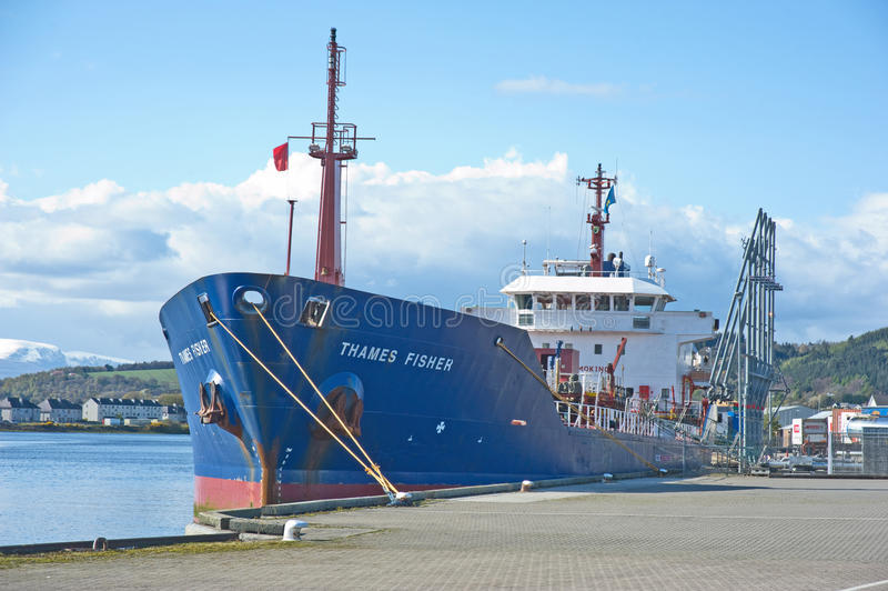 Download Thames Fisher at Inverness editorial stock image. Image of quay - 25431739