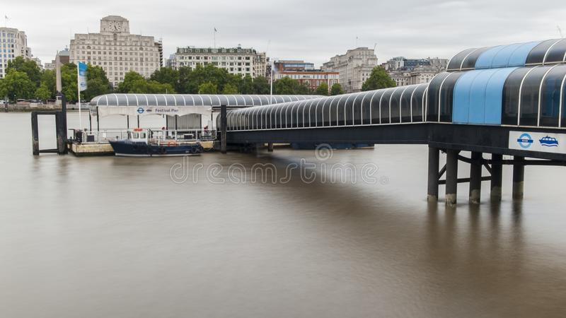 Thames flod, London arkivbilder