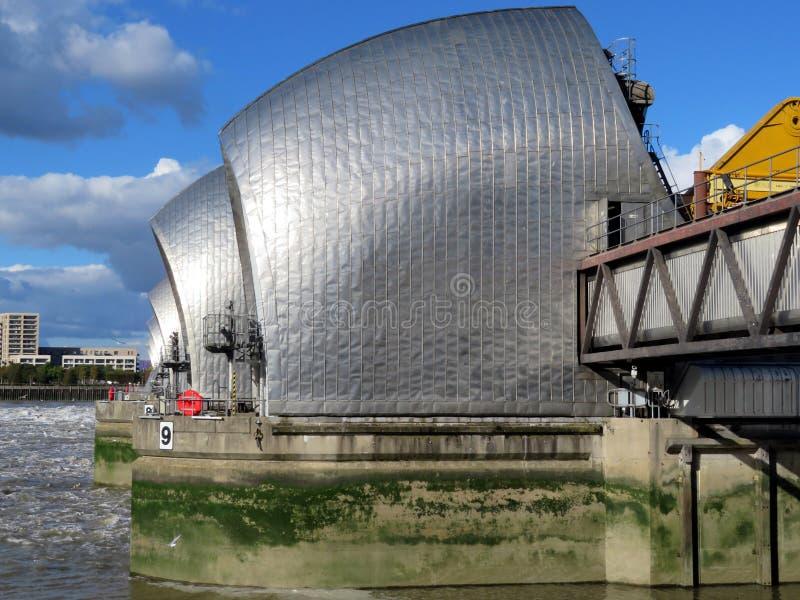 Thames flood barrier stock photos